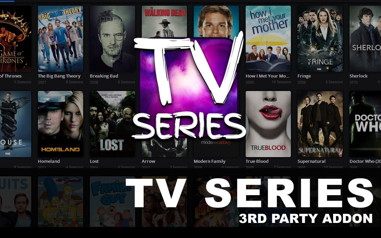 Watch TV Series Addon Kodi - kodi m3u Database Addons Repos